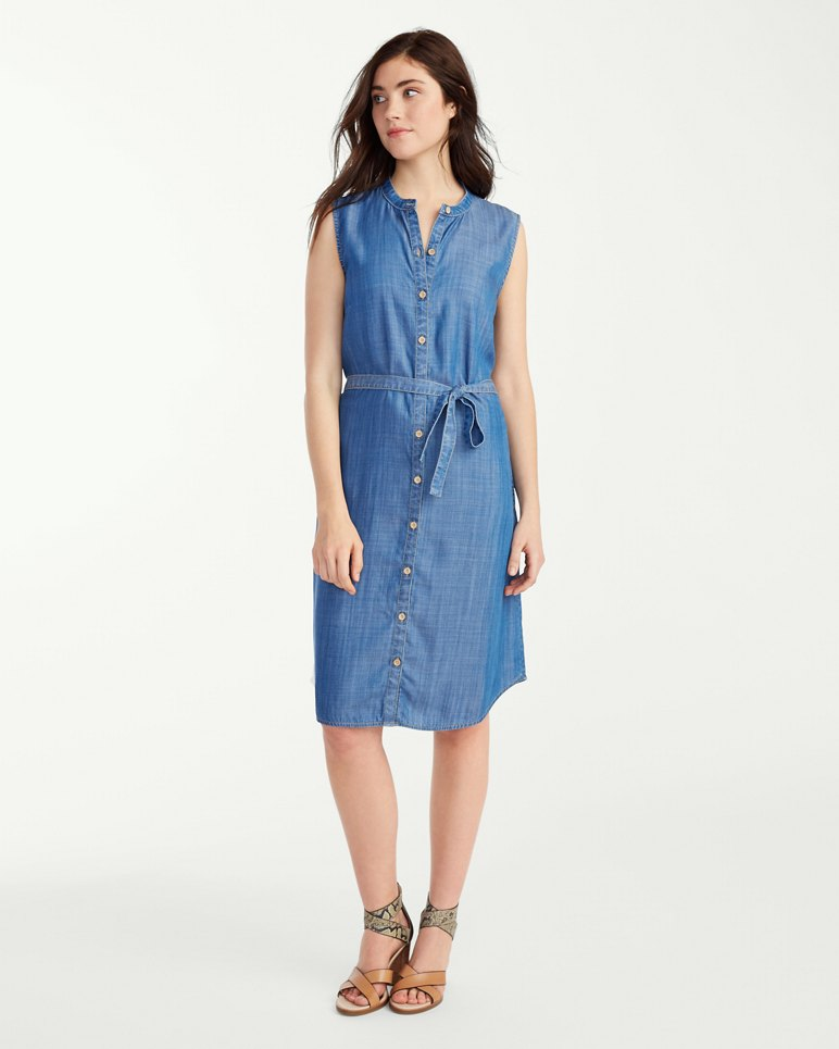 Furniture Stores The Woodlands Tx Chambray All Day Sleeveless Dress