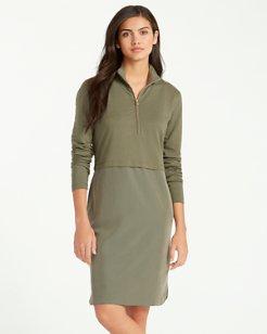 Aldywn-Sansabar Half-Zip Dress