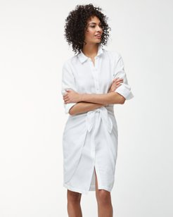 Sunrise Twill Shirt Dress