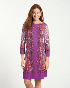 Gramado Swirls Shift Dress