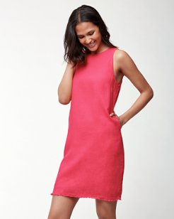 Two Palms Linen Sleeveless Dress