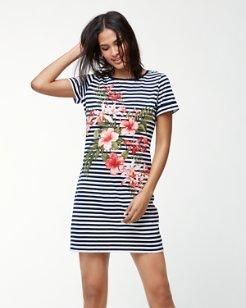 Sacred Groves Stripe T-Shirt Dress