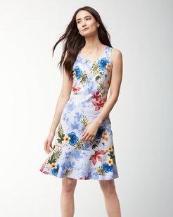 Eros Botanical Sleeveless Dress