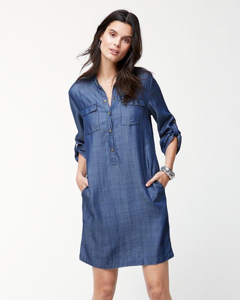 Main Image for Chambray All Day Shirt Dress