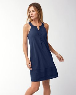Arden Embroidered Sleeveless Dress