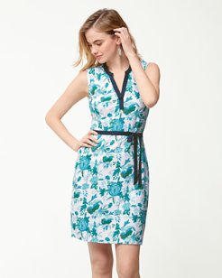 Naxos Blooms Belted Dress