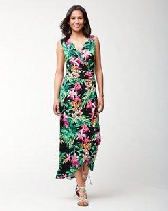 Floriana Tambour Maxi Dress