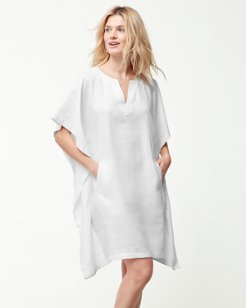 Two Palms Linen Kaftan