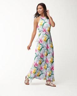 Bird de Paradise Maxi Dress