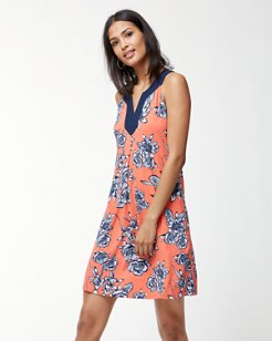 Lavatera Leis Tambour Sleeveless Dress