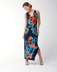 Celena Blooms Tambour Maxi Dress