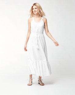 Cotton Voile Maxi Dress