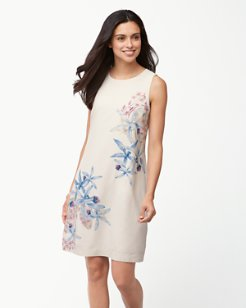 Orchid You Not Silk Shift Dress