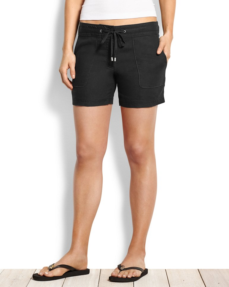 Two Palms Linen 5 Inch Shorts