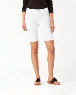 Afton Denim 10-inch Bermuda Shorts