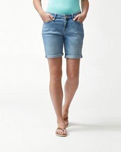 Tema Denim 10-Inch Bermuda Shorts