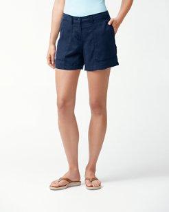 Layanna Twill 5-Inch Shorts