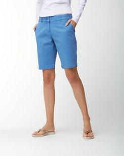 Sail Away Twill 11-Inch Bermuda Shorts