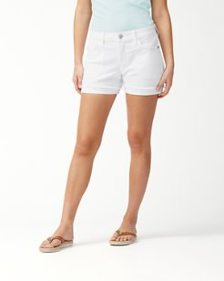 Ana 4-Inch Twill Utility Shorts