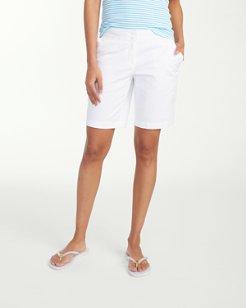 Sail Away Twill 9-inch Bermuda Shorts
