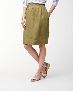 Orion Twill Linen Skirt