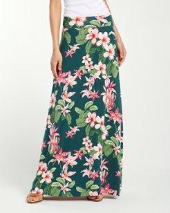 Le Tigre Orchid Tambour Maxi Skirt