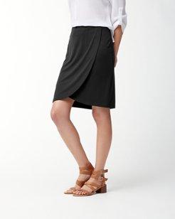 Tambour Wrap Skirt
