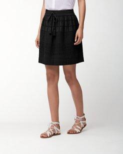 Daphne Eyelet Skirt