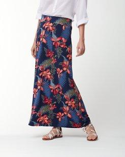 Sacred Groves Tambour Maxi Skirt