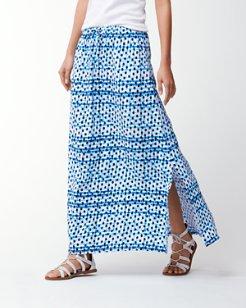 Dot Matrix Maxi Skirt